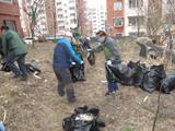 平山区领导带头参与清洁月活动